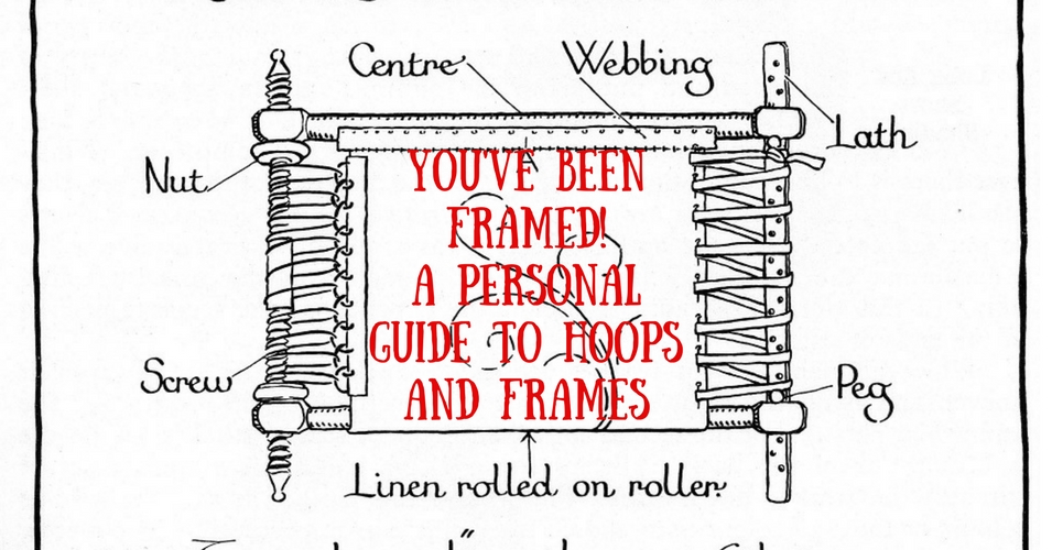 Maggie Gee Needlework | You\'ve been Framed! A personal guide to ...